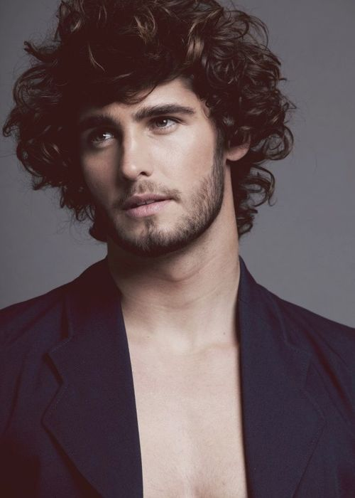 Fine Cool Beard Styles For Men With Curly Hair In 2015 Hairstyle Inspiration Daily Dogsangcom