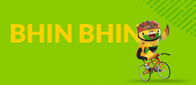 Maskot Asian Games 2018 bhin-bhin