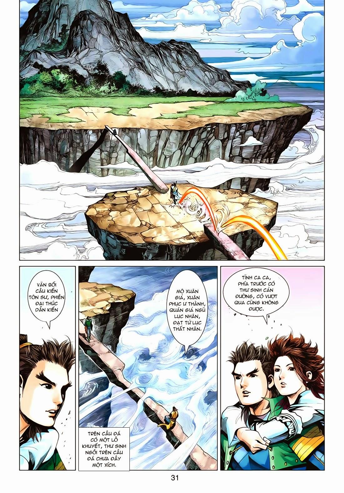 Anh Hùng Xạ Điêu anh hùng xạ đêu chap 72: ngư tiều canh độc trang 31