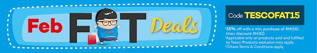 Lazada Malaysia Tesco Promo Code Discount Voucher