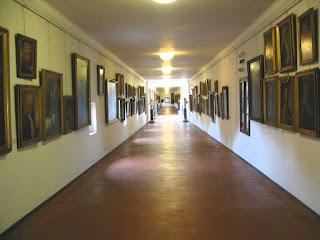 Vasari corridor Uffizi Florence