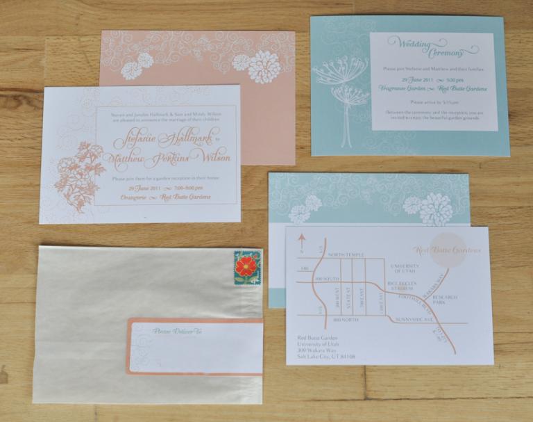 Hallmark Invitations Wedding: Hallmark Ink: Invitation: Stef & Matt Wedding