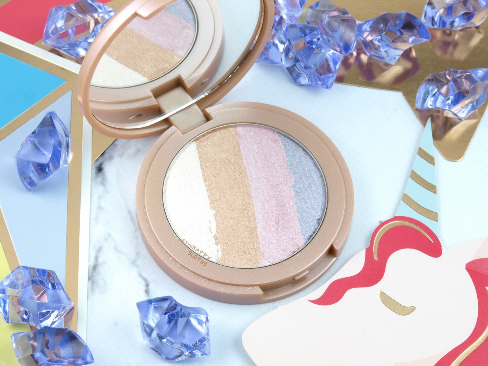 Tarte Summer 2017 Spellbound Glow Rainbow Highlighter: Review and Swatches