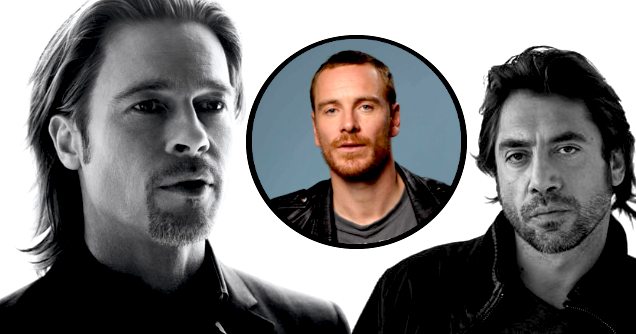 CELLULOID AND CIGARETTE BURNS: Brad Pitt And Javier Bardem