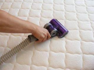 cara mencuci sendiri spring bed