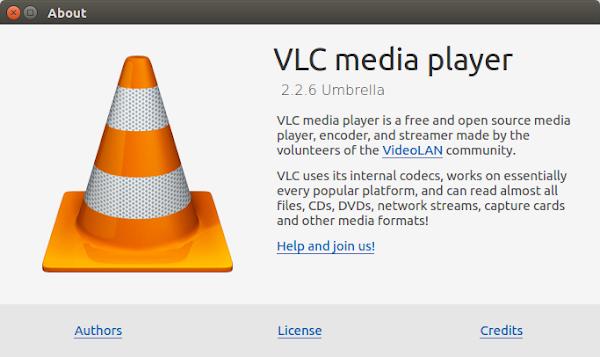 VLC 2.2.6 в Ubuntu 16.04