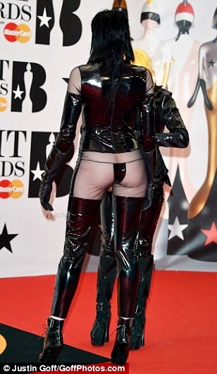 Most Revealing Red Carpet Outfit? UK Model's Dress at Brit Awards Breaks the Internet (Photos)