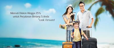 Diskon Sampai 25% dengan Kartu BCA – Garuda Indonesia
