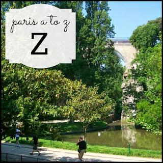 Paris A to Z: Zen in the City