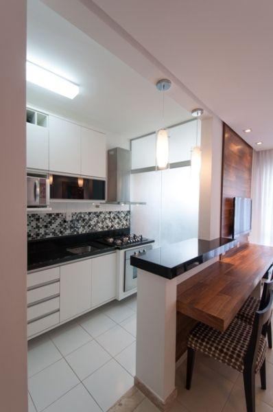 20 cozinhas modernas com bancadas pretas jeito de casa blog de decora o e arquitetura - Paredes lacadas ...