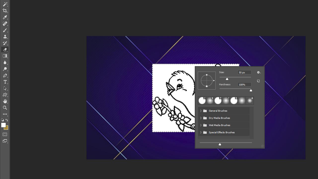 Cara Menghapus Background Dengan Eraser Tool Pada Adobe Photoshop Untuk Pemula