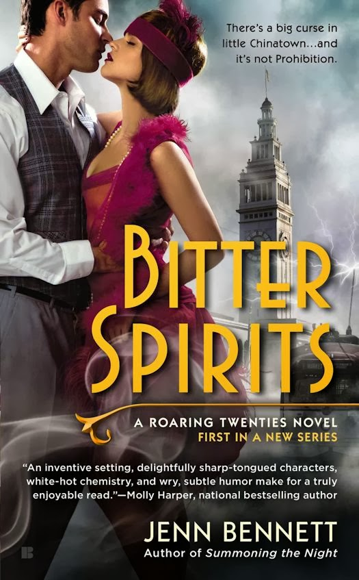Interview with Jenn Bennett, author of the Roaring Twenties and Arcadia Bell Series - January 15, 2014