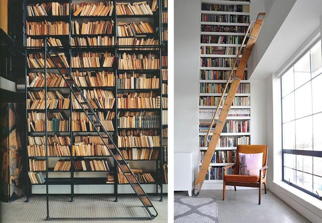 La fabrique d co des chelles utiles avec du style - Deco bibliotheque salon ...