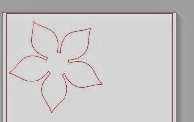 3D, paper flowers, Silhouette tutorial, Silhouette Studio, weld