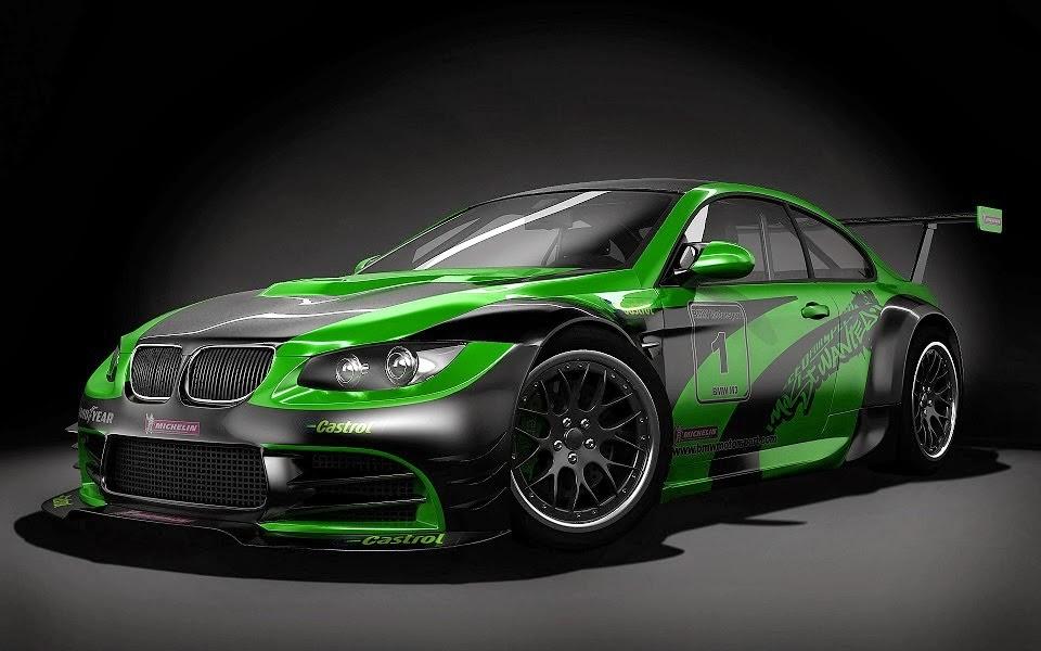 Oto & Motif: Foto mobil bmw warna hijau list hitam ...