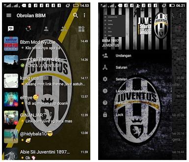 BBM Mod Tema Juventus FC - Based Official V3.0.1.25 Apk