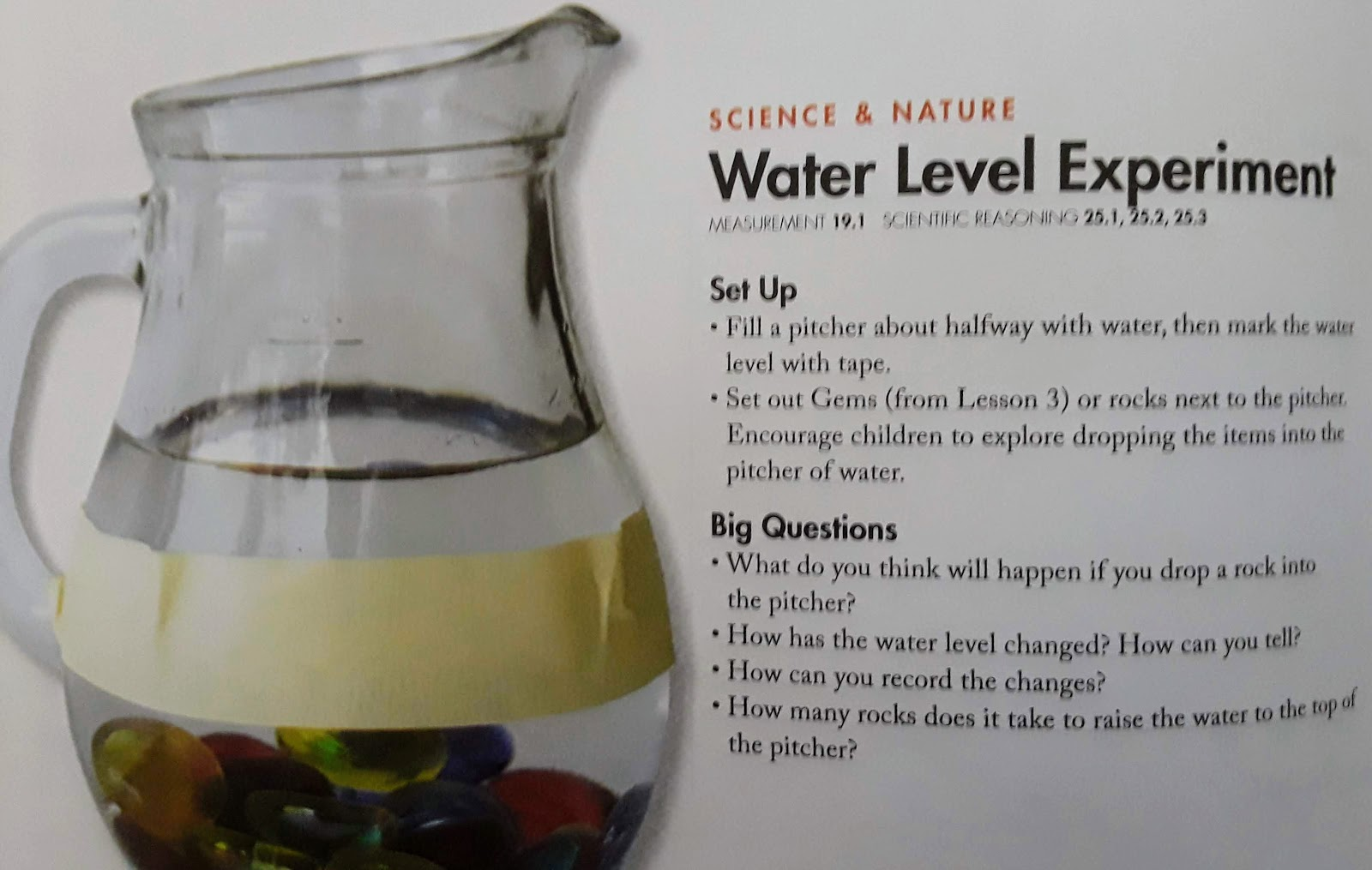 Jack Of All Trades Preschool Science Volume And Water