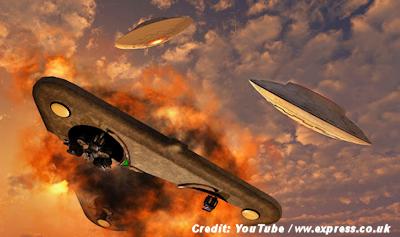 Russians Shot down UFO Over Iran?