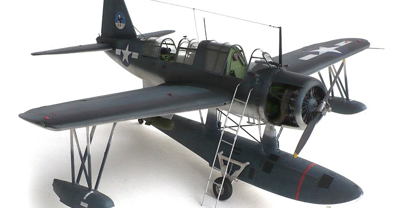 the great canadian model builders web page vought os2u