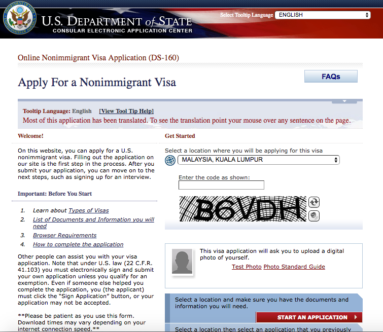 Mayheart Usa Travel Visa B2 For Expat Work In Malaysia