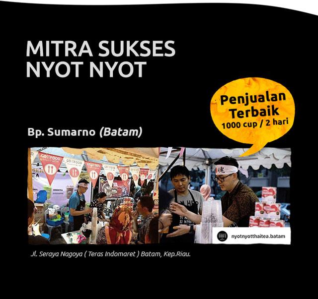Mitra Sukses Thai Tea Nyot Nyot