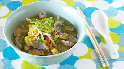 How to Make EASY Asari (Clam) Ramen Noodles