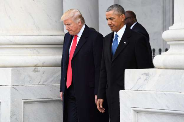 Obama lawyers move fast to join fight against Trump