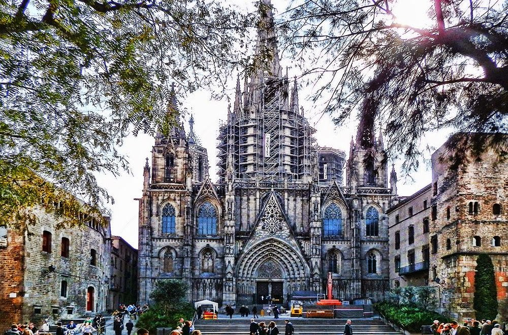 Catedral de Barcelona - Ponto turístico