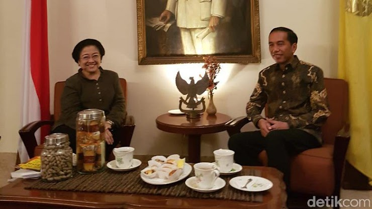 Megawati Lakukan Pertemuan Tertutup dengan Jokowi di Batu Tulis