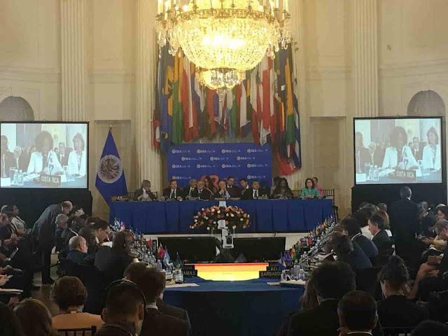 Ni Nicaragua votó a favor de Venezuela en la OEA