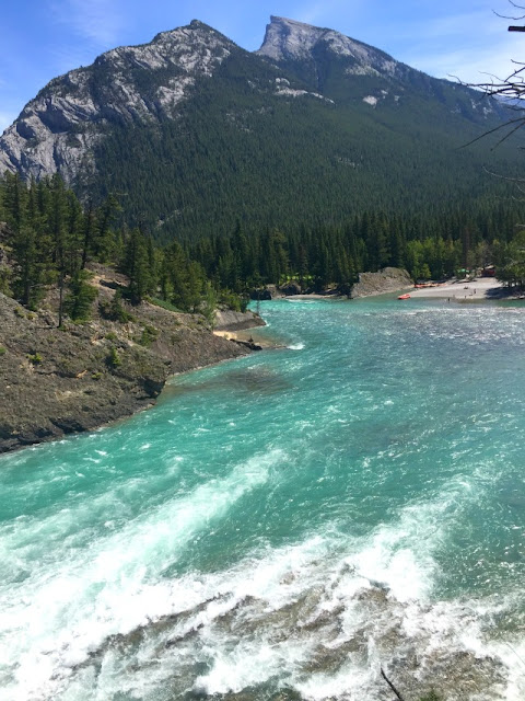 bowriver, bowfall, banff, nationalpark, travel, travelblogger