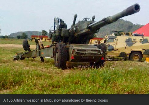 nigerian troops flee mubi