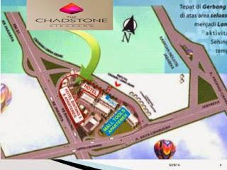 Lokasi APARTEMENT CHADSTONE DI CIKARANG BARAT