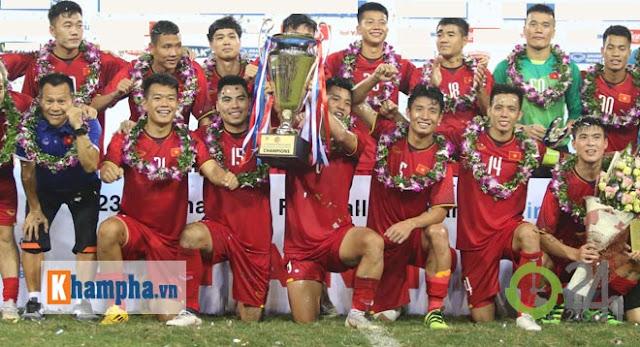Bùng nổ phút cuối, U23 Việt Nam tưng bừng đăng quang Cúp Tứ hùng 3