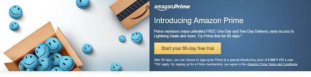 Get 60-day Free Amazon Prime