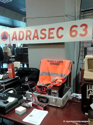 Expo/bourse Radiomania Clermont-Ferrand 2017 ADRASEC