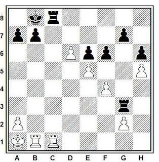 Posición de la partida Vitolins - Jerkin (Riga, 1988)