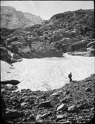 Ancient glacier des Gabiétous