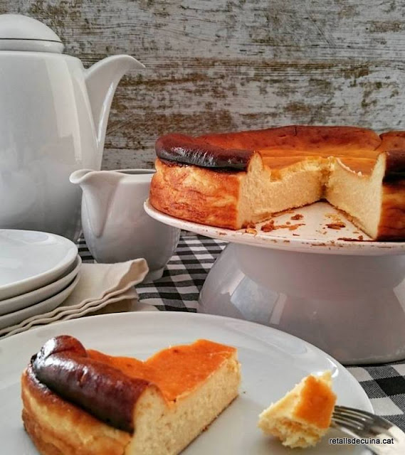 Pastís de formatge o cheesecake estil Nova York