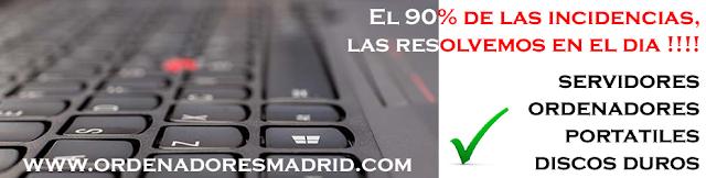 Ordenadores Madrid