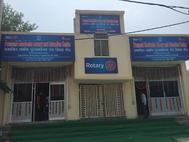 Get closer to the books – Rotary club of Capital City brings charitable library