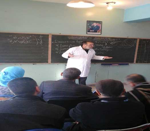 ندوة تربوية تاريخية بمدرسة الأمل ببني ملال