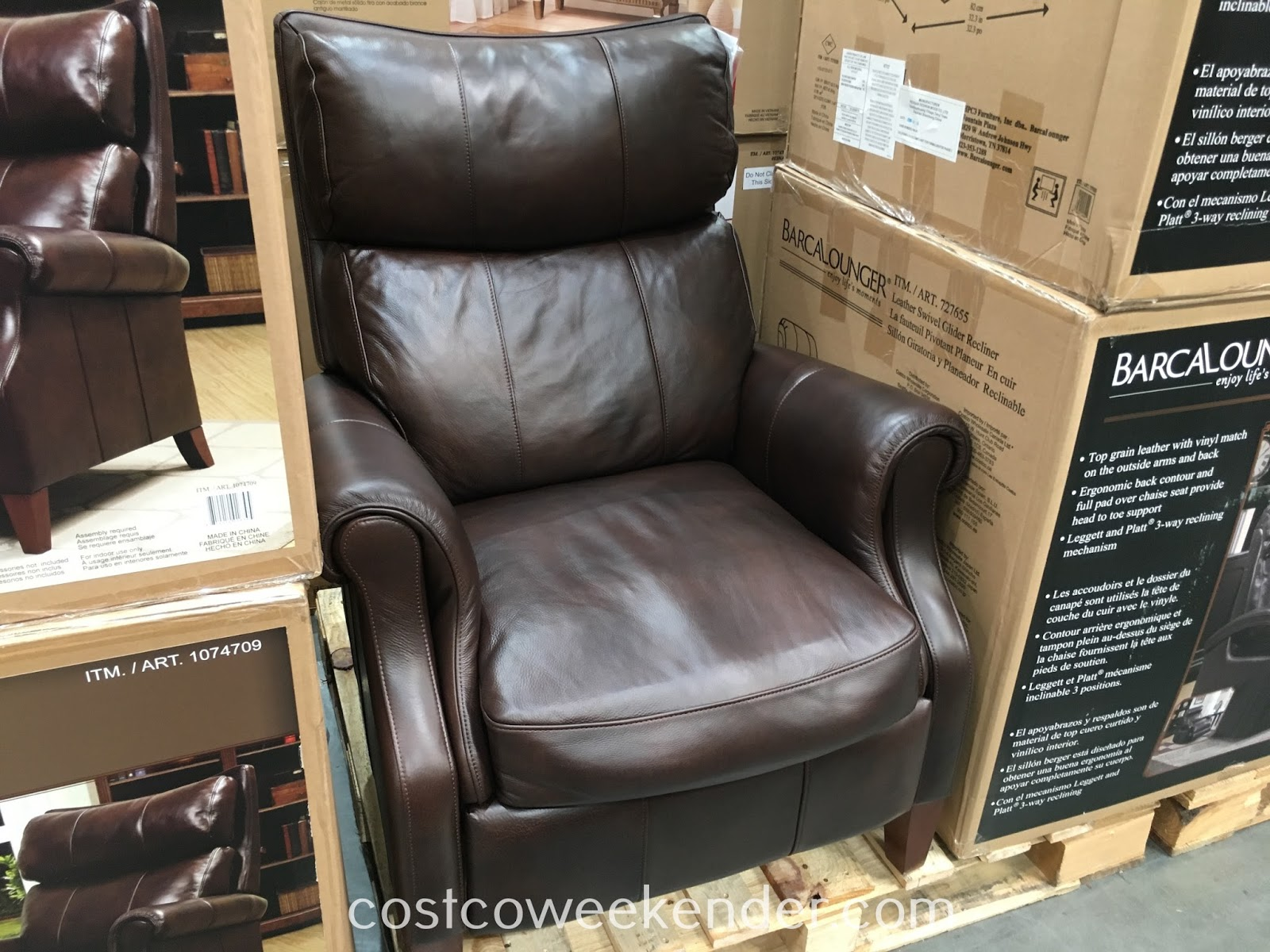 Synergy Recliner Chair Cover In Jaipur Home Leather Pushback Costco Weekender Relax At The Comfort Of