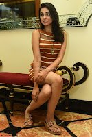 Actress Nikhita in Spicy Small Sleeveless Dress ~  Exclusive 008.JPG