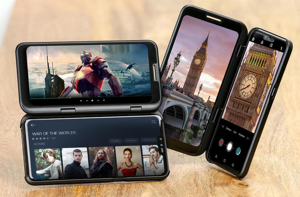 Tawarkan Ponsel Lipat, LG V50 ThinQ Tantang Samsung dan Huawei