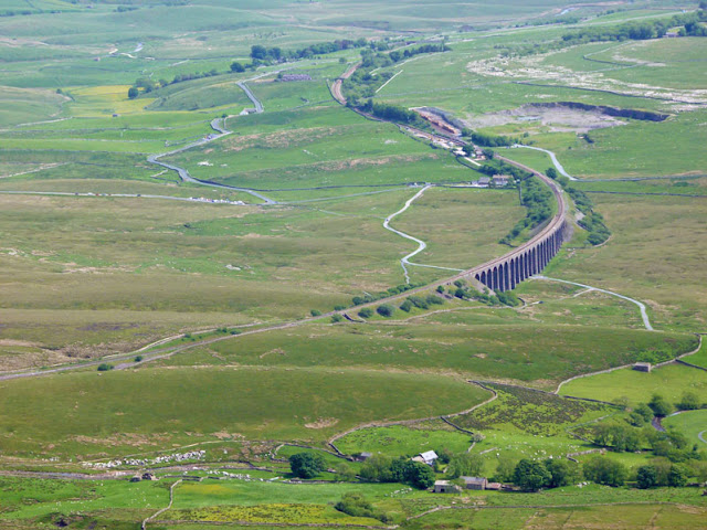 Ribblehead Viaduct, Whernside, Batty Wife, Jericho.
