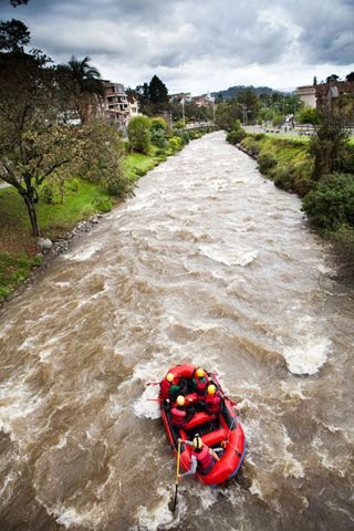Rafting in Cuenca