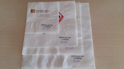 servilletas impresas personalizadas