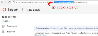 Cara simpel membuat laman contact us pada blog jadi harus merubah id blog terlebih dahulu