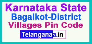 Bagalkot District Pin Codes in Karnataka State